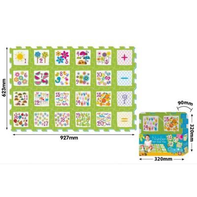 Tapis De Puzzle En Mousse Pour B B Partir De 10 Mois Axiom 4340 24 Pi Ces Puzzles Educatifs