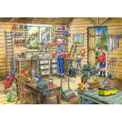 The-House-of-Puzzles-4500 Trouvez les 15 Différences No.14 - Fred's Shed