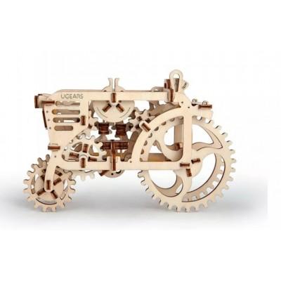 Ugears-12018 Puzzle 3D en Bois - Tracteur