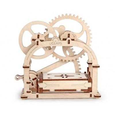 Ugears-12021 Puzzle 3D en Bois - Mechanical Box