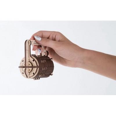 Ugears-12029 Puzzle 3D en Bois - Combination Lock