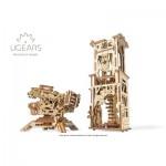 Ugears-12075 Puzzle 3D en Bois - Archballista-Tower