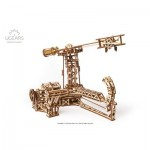 Ugears-12083 Puzzle 3D en Bois - Aviator mechanical model kit