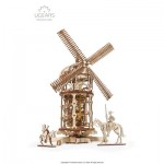 Ugears-12084 Puzzle 3D en Bois - Tower Windmill