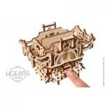 Ugears-12091 Puzzle 3D en Bois - Deck Box