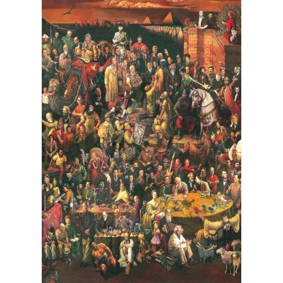 Art-Puzzle-4000 113 Famous People
