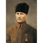 Art-Puzzle-4158 Commandant en Chef Ghazi Mustafa Kemal Atatürk