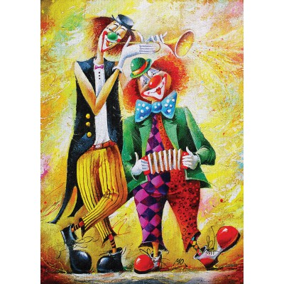 Art-Puzzle-4182 Drôles de Clowns