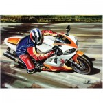 Art-Puzzle-4201 Moto de Course