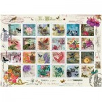 Art-Puzzle-4207 Collage de Timbres