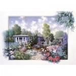 Art-Puzzle-4211 Jardin Floral