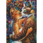 Art-Puzzle-4226 Dance of the Cats in Love