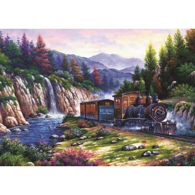 Art-Puzzle-4233 Voyage en Train