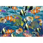 Art-Puzzle-4270 Multi Fish