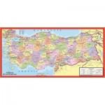 Art-Puzzle-4346 Carte politique de la Turquie