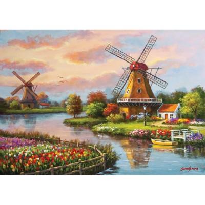 Art-Puzzle-4354 Windmills