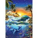 Art-Puzzle-4428 Lever du Jour sur Hawaii