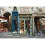 Art-Puzzle-4438 Puzzle en Bois - Viktor Shvaiko: Café Léon