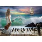 Art-Puzzle-4468 Sea Symphony