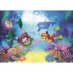 Art-Puzzle-4499 Pièces XXL - The Diver Kids