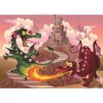 Art-Puzzle-4505 Pièces XXL - Les Dragons
