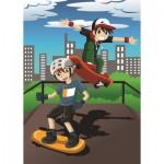 Art-Puzzle-4506 Skating