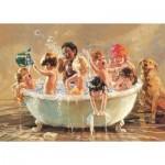 Art-Puzzle-4528 Sparkling Babies