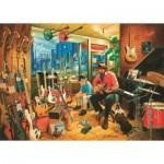Art-Puzzle-4536 Magasin de Musique