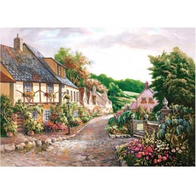 Art-Puzzle-4571 Cottages