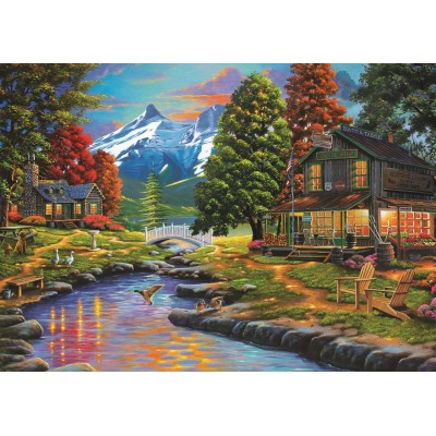 Art-Puzzle-4575 Two Sides a Forest