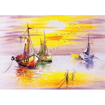 Art-Puzzle-4578 Evening Sun
