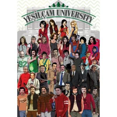 Art-Puzzle-4588 Yesilcam University