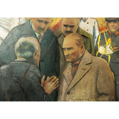 Art-Puzzle-4589 Atatürk and Earthquake