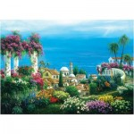 Art-Puzzle-4590 Seaside Town