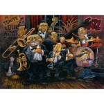 Art-Puzzle-4607 Bill Bell : Louis Armstrong et son Orchestre