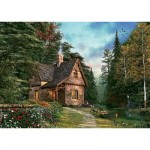 Art-Puzzle-4621 Woodland Cottage