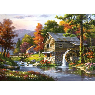 Art-Puzzle-4640 Old Sutter's Mill