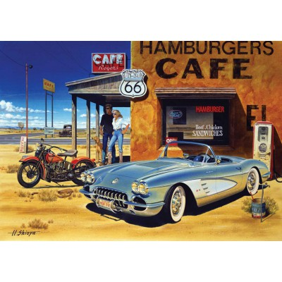 Art-Puzzle-4642 Arizona Cafe