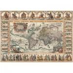 Art-Puzzle-4711 Vieille Carte du Monde