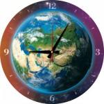 Art-Puzzle-5002 Puzzle Horloge - La Terre (Pile non fournie)