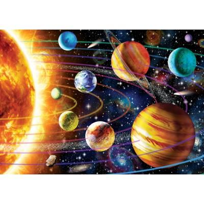 Art-Puzzle-5012 Neon Puzzle - Système Solaire