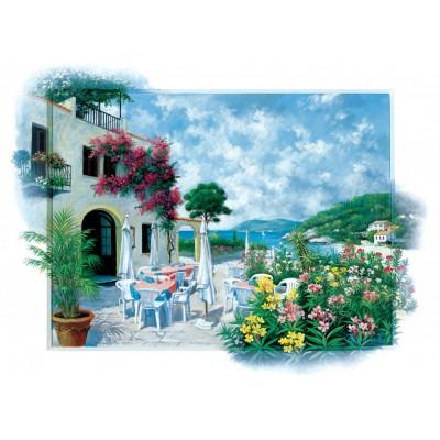 Art-Puzzle-5026 Beach Cafe