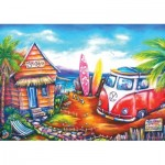 Art-Puzzle-5027 Surf Camp