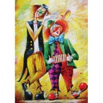 Art-Puzzle-5030 Clowns Musiciens
