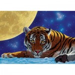 Art-Puzzle-5072 Moon Tiger
