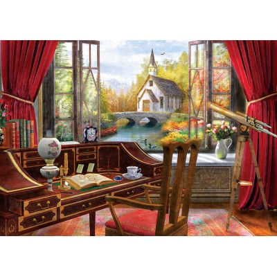 Art-Puzzle-5074 Work Landscape