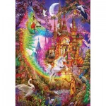 Art-Puzzle-5075 Rainbow Castle