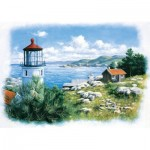 Art-Puzzle-5076 Lantern on the Shore