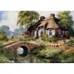 Art-Puzzle-5080 Green Village