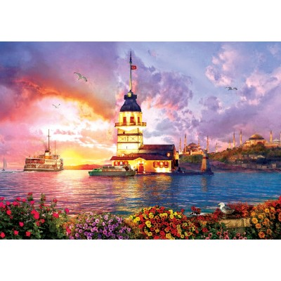 Art-Puzzle-5179 Maiden's Tower